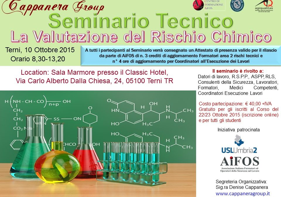 Seminario rischio chimico